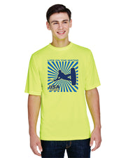 Men's Splash Performance Short Sleeve - Safety Yellow (Choose Your Discipline)