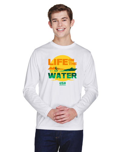Performance Graphic Long-Sleeve Tee