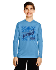 Youth Splash Performance Long Sleeve (Choose Your Discipline)