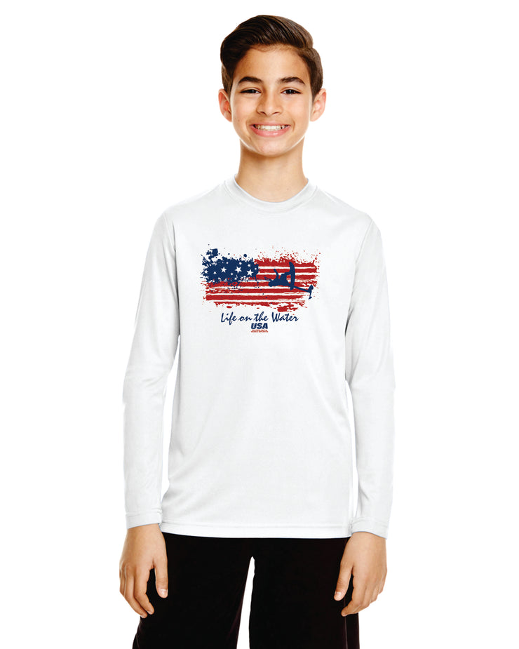 Youth Flag Performance Long Sleeve (Choose Your Discipline)