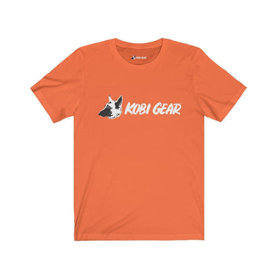 KOBI GEAR™ Unisex Short Sleeve Tee T-Shirt Printify Orange S
