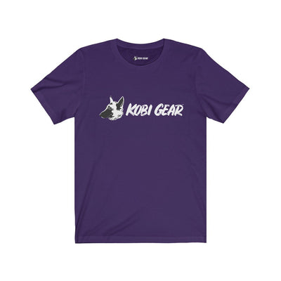 KOBI GEAR™ Unisex Short Sleeve Tee T-Shirt Printify Team Purple S