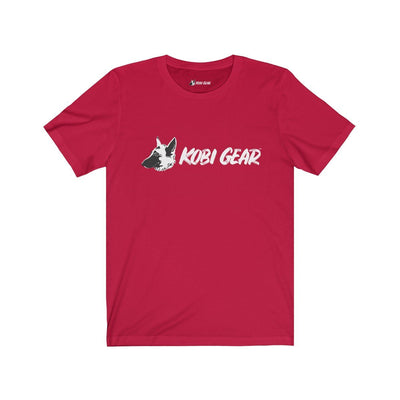 KOBI GEAR™ Unisex Short Sleeve Tee T-Shirt Printify Red L