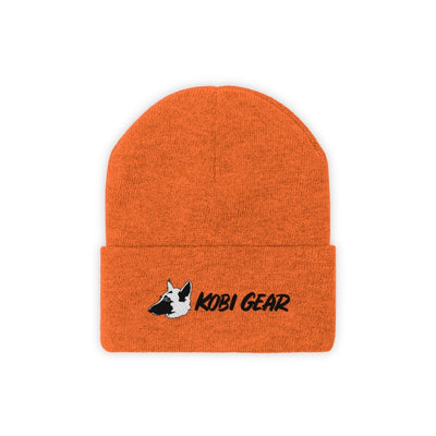KOBI GEAR™ Cool Beanie Hats Printify Deep Orange One size