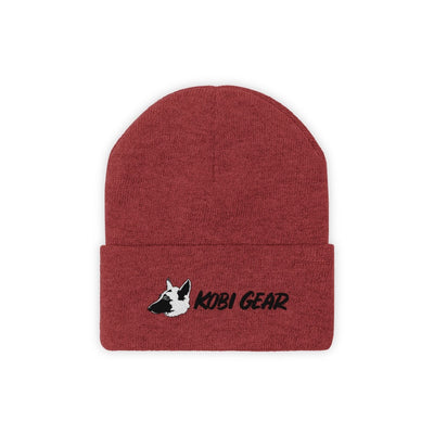 KOBI GEAR™ Cool Beanie Hats Printify True Red One size