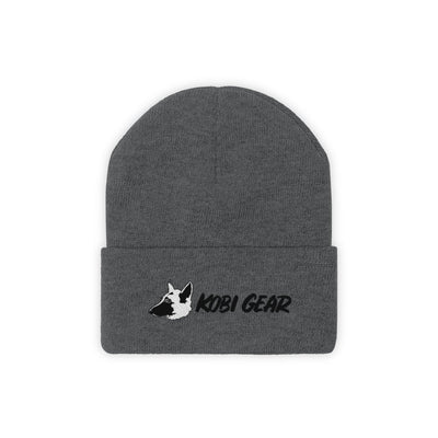KOBI GEAR™ Cool Beanie Hats Printify Graphite Heather One size