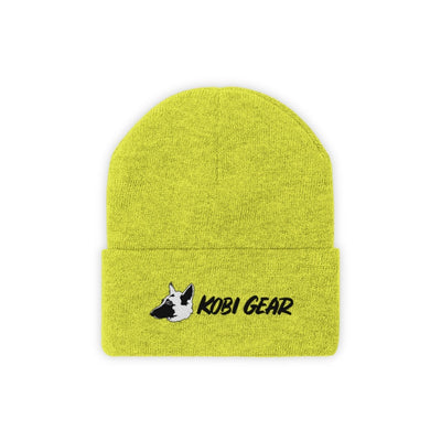 KOBI GEAR™ Cool Beanie Hats Printify Neon Yellow One size