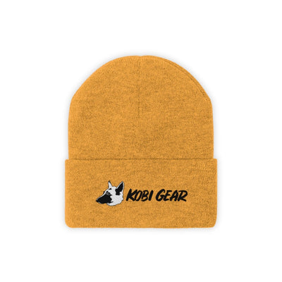 KOBI GEAR™ Cool Beanie Hats Printify Gold One size