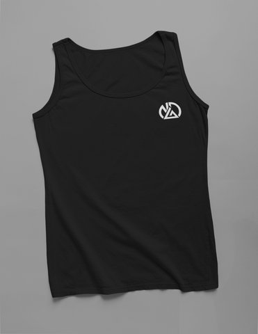 NDA Original Logo  Black Tank Top