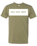 Nick Diaz Army- Block