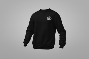 NDA Embroidered Logo Crew Neck Sweater