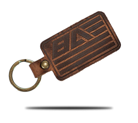 Bravo Actual X Sequoia Supply Co. Leather Key Chain