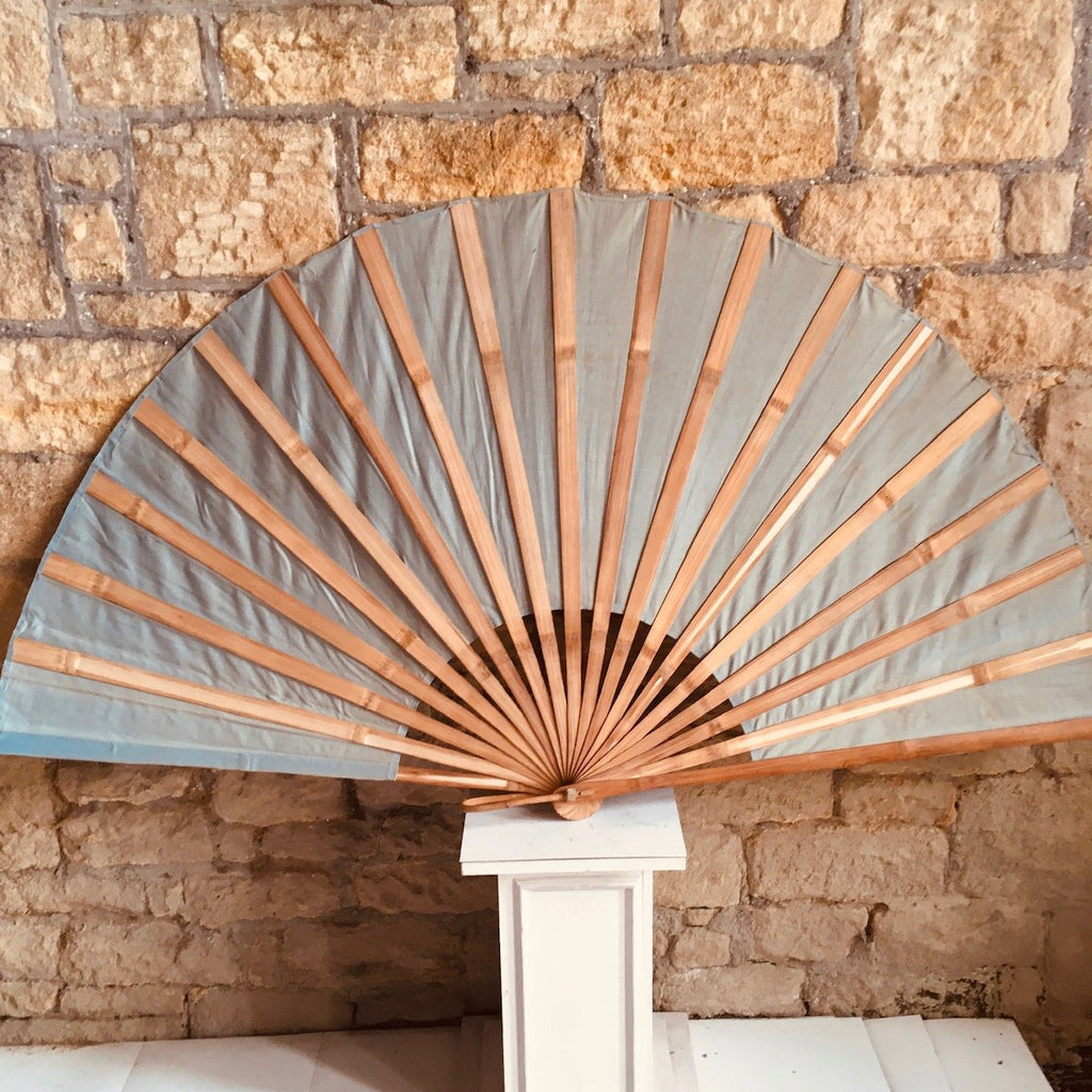 Bamboo-and-canvas-fan