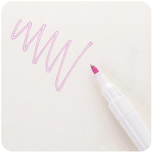 Sparkling Double Line Outline Pen
