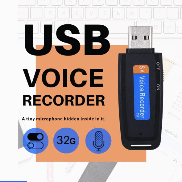USB Voice Recorder - Simple to use