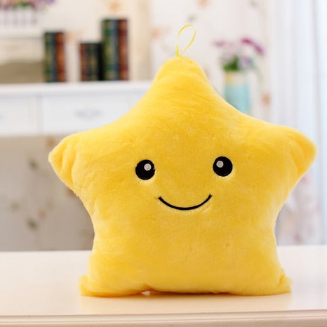 Happy Star Light Up Pillows