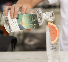 One part El Rayo Tequila