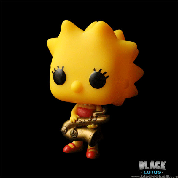 More Simpsons Series 2 Funko Pop! - Lisa with Saxophone!!!