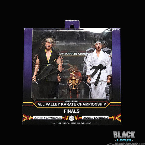 Karate Kid Tournament 2 Pack from NECA!!!