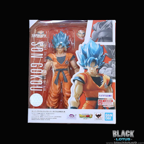 Bandai/Tamashii Nations - S.H. Figuarts - Dragon Ball Super: Broly - Super Saiyan God Super Saiyan (SSGSS) Son Goku (2019)