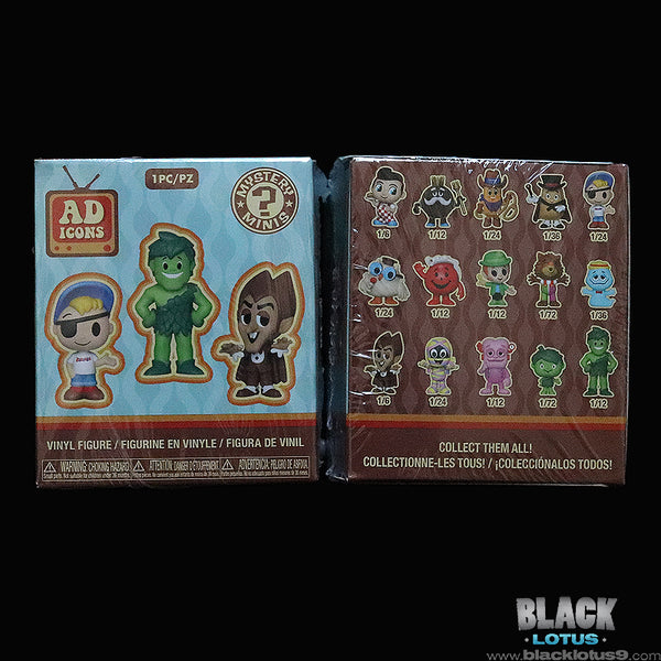 Funko Mystery Minis - Ad Icons Series 1 Case of 12 Sealed Boxes