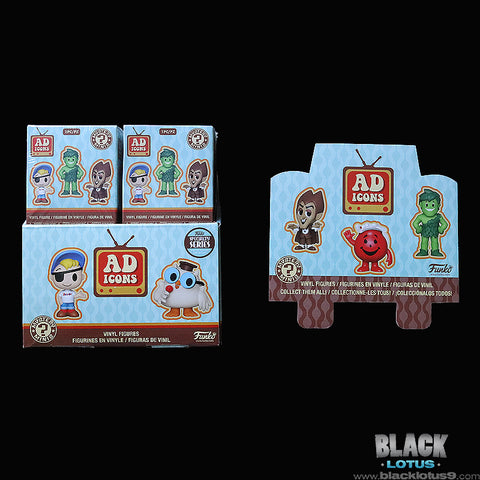 Funko Mystery Minis - Ad Icons Series 1 (Specialty Series) Case of 12 Sealed Boxes