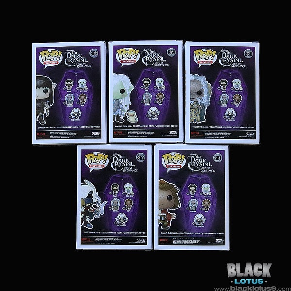 Funko Pop! - Jim Henson's The Dark Crystal: Age of Resistance - Set of 5
