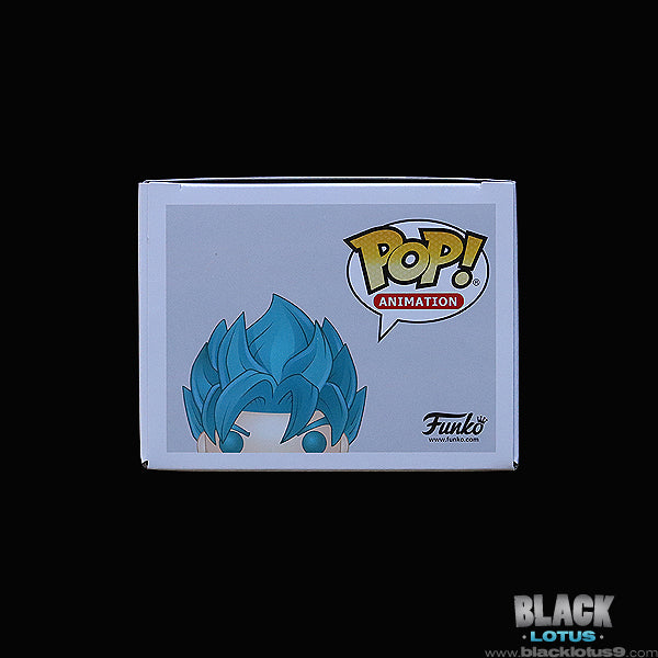 Funko Pop! - Anime - Dragon Ball Super (DBS) - Metallic SSGSS Goku (Kamehameha) (Chalice Collectibles Exclusive)