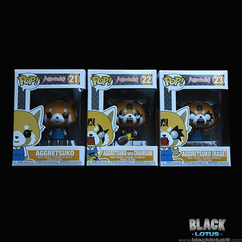 Funko Pop! - Anime - Sanrio - Aggretsuko Set of 3