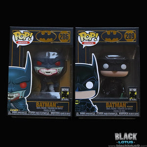 Funko Pop! - DC Comics - Batman 80 Years - Red Rain Batman and Batman Forever (1995)