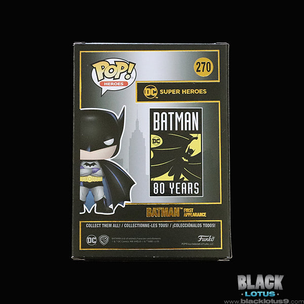 Funko Pop! - DC Comics - Batman 80 Years - Batman First Appearance
