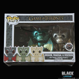 Funko Pop! Vinyl - Game of Thrones - Metallic Dragon Set (Drogon, Rhaegal, and Viserion)