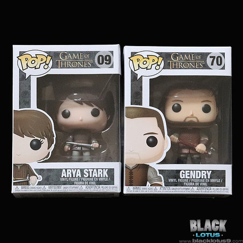 Funko Pop! - HBO - Game of Thrones - Arya Stark and Gendry