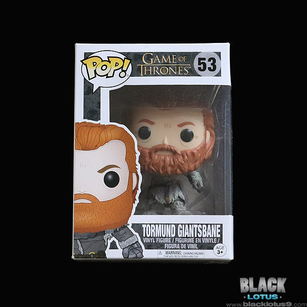Funko Pop! - HBO - Game of Thrones - Tormund Giantsbane