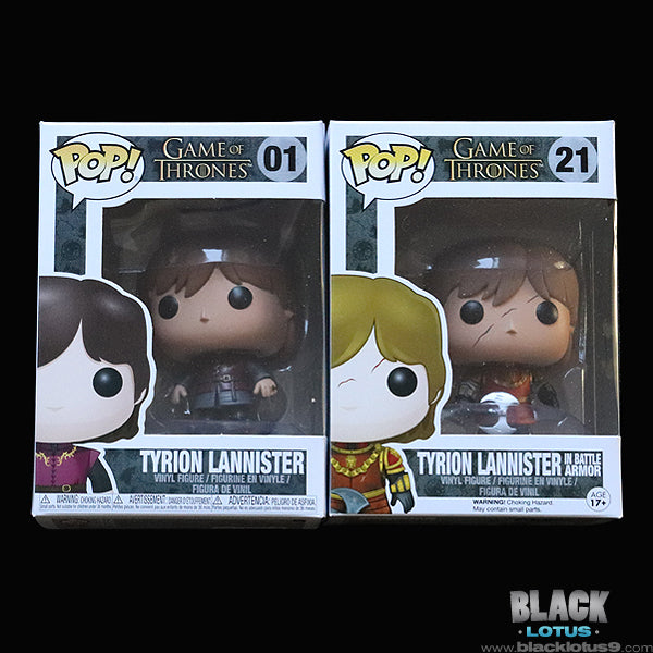 Funko Pop! - HBO - Game of Thrones - Tyrion Lannister Set