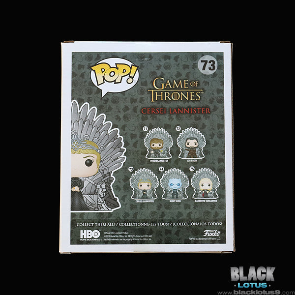 Funko Pop! - HBO - Game of Thrones - Cersei Lannister on Iron Throne