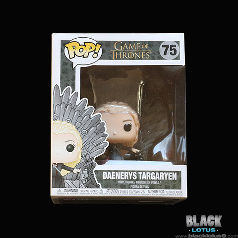 Funko Pop! - HBO - Game of Thrones - Daenerys Targaryen on Iron Throne