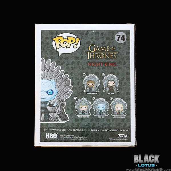 Funko Pop! - HBO - Game of Thrones - Night King on Iron Throne