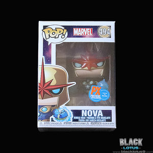 Funko Pop! - Marvel Comics - Metallic Nova (Previews/PX Exclusive)