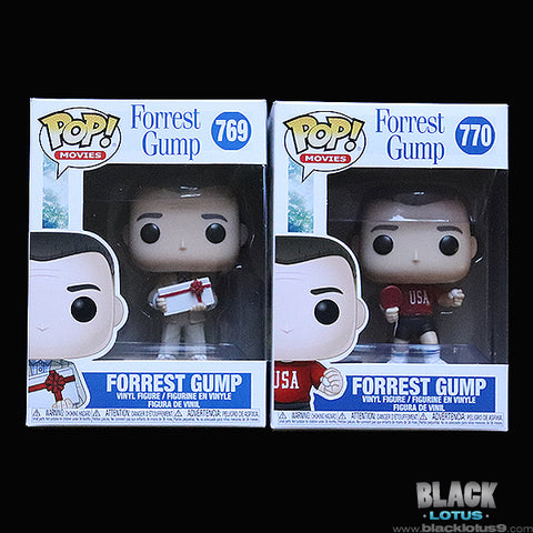 Funko Pop! - Movies - Forrest Gump with Box of Chocolates and Ping Pong Outfit Set