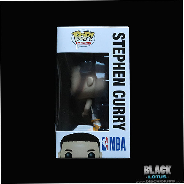 Funko Pop! - Basketball - NBA - Golden State Warriors - Stephen Curry (Black Jersey)
