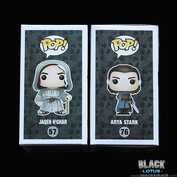 Funko Pop! - HBO - Game of Thrones - Jaqen H'ghar and Arya Stark