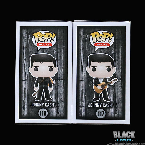 Funko Pop! - Rocks - Johnny Cash Set