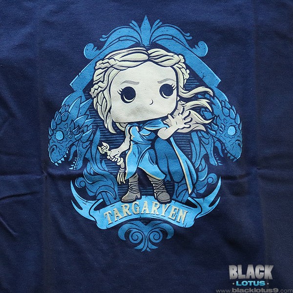 Funko Pop! Tees - HBO - Game of Thrones - Daenerys Targaryen Dragon Shield WOMENS T-Shirt