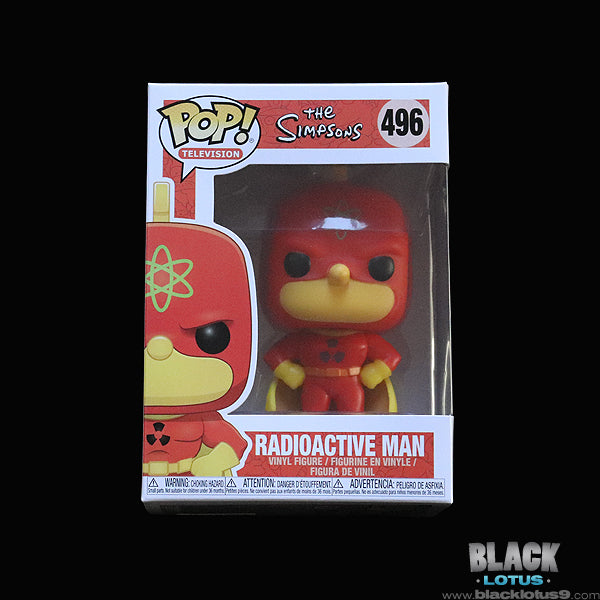Funko Pop! - The Simpsons - Radioactive Man (Homer Simpson)