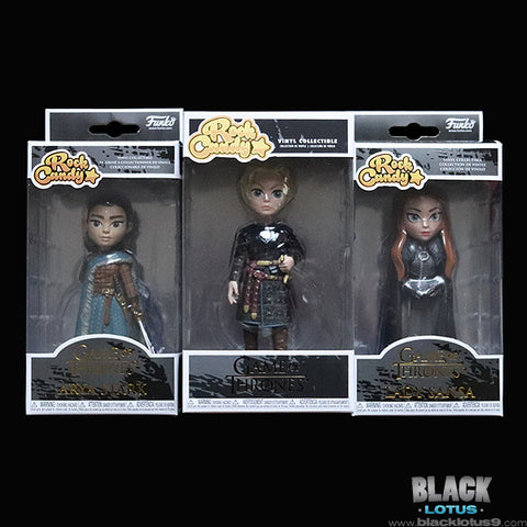 Funko Rock Candy - HBO - Game of Thrones Set of 3