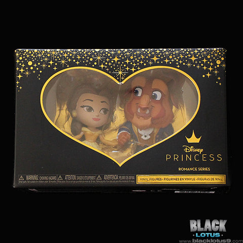 Funko Mini Vinyl Figures - Disney Princess Romance Series - Beauty and the Beast - Belle and The Beast Set
