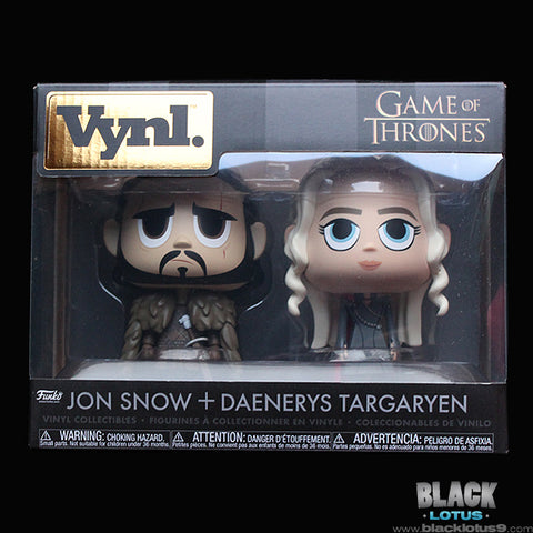 Funko Vynl. - HBO - Game of Thrones - Jon Snow and Daenerys Targaryen