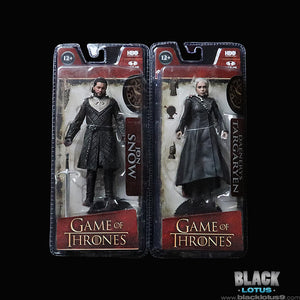 McFarlane Toys - HBO - Game of Thrones - Jon Snow and Daenerys Targaryen Action Figures