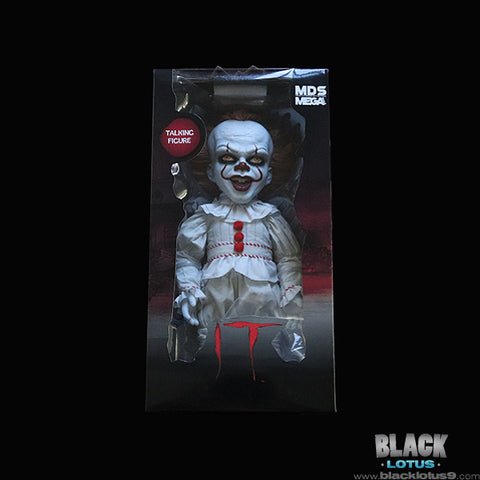 Mezco Toyz Designer Series (MDS) - Stephen King's IT (2017) - Mega Scale Talking Pennywise